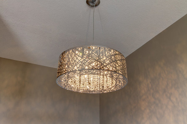 Contemporary Ceiling Lighting by R. Fleming Construction