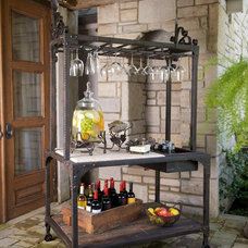 Traditional Wine Cellar by Timeless Wrought Iron