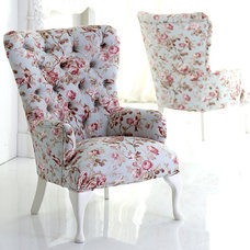 Traditional Armchairs And Accent Chairs by an angel at my table