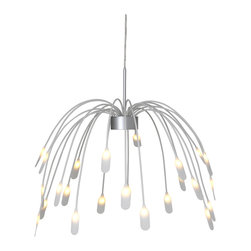 Häggås LED Pendant Lamp - I love this lighting choice because it has some movement to it. It almost looks like a mobile.