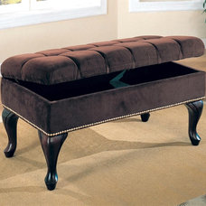 Traditional Accent And Storage Benches by CheaperFloors