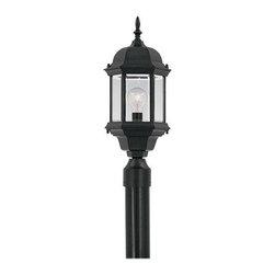 "Designer Fountain - Devonshire 8"" Post Lantern - 8 inches cast post lantern"