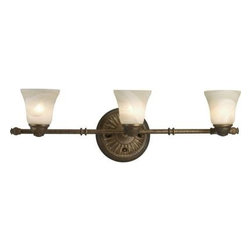 Progress Lighting - Progress Lighting Savannah Collection Burnished Chestnut 3-light Spotlight Fixtu - Shop for Lighting & Fans at The Home Depot. Inspired by the spirit of the British Colonial Isles, the Savannah Collection features a pineapple motif, which is the traditional symbol of hospitality. Fitted with antiqued alabaster glass shades and a rich hand painted finish.