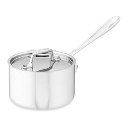 All-Clad Tri-Ply Stainless-Steel Saucepan - This was a bit of an investment, but for the number of times and number of ways I use this thing, it's worth it. You need a quality pot for making sauces, but this one is also perfect for beautifully sautéing an onion or cooking up a bit of pasta.