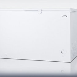 Summit - CF12L 10.6 cu.ft. White Chest Freezer with Manual Defrost  Adjustable Thermostat - Is a mid-sized chest freezer designed for reliable frozen storage