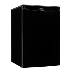 Danby - Danby Black 2.6 Cubic Foot Refrigerator - Features: