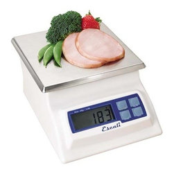 Escali Digital Scale Alimento - Why scale back when you can go forward with the scale of the future? This digital scale covers virtually all of your home needs with the exception of being a personal weight scale. But with all its amazing functions, you'll be tempted to step on it. (We don't recommend that.)