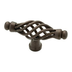 Liberty Hardware - Liberty Hardware 65109RB Oil Rubbed Bronze - Avante 1.48 Inch Birdcage Knob - The whimsical design of this unique knob provides beauty and character to your cabinetry or furniture. Available in multiple colors. Width - 1.48 Inch, Height - 0.79 Inch, Projection - 2.66 Inch, Finish - Rubbed Bronze II, Weight - 0.1 Lbs.