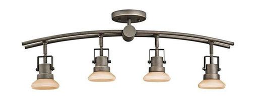 Kichler Lighting - Kichler Lighting 7755OZ Structures Contemporary Track Light In Olde Bronze - Kichler Lighting 7755OZ Structures Contemporary Track Light In Olde Bronze