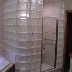 Glass Block Showers - Stark Glass Block