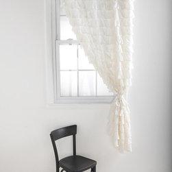 UrbanOutfitters.com > Waterfall Ruffle Curtain -
