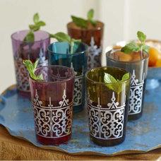 Mediterranean Everyday Glassware by VivaTerra