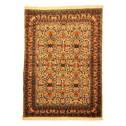 eSaleRugs - 3' 6 x 4' 10 Bidjar Persian Rug - SKU: 110900771 - Hand Knotted Bidjar rug. Made of 100% Wool. Brand New.