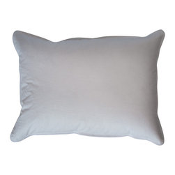 Ogallala Comfort Company - Ogallala Comfort Company 600 Hypo-Blend Boudoir Pillow - Decorative pillows add luxury and comfort to your home. Sink in, relax and enjoy your surroundings, anywhere you are. This Hypodown blend is four parts white goose down and one part Syriaca clusters, a fiber from the milkweed plant. The two work hand in hand to give you the best of their natural abilities: warmth and comfort. Down clusters are the soft fluff under feathers that keep birds comfortable no matter what the climate. In order to measure nature's performance, down is rated by two distinct values, Percent Down Cluster and Fill Power.