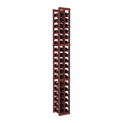 Wine Racks America - 2 Column Standard Wine Cellar Kit in Pine, Cherry - We select from the highest grade materials available. Completely solid assembly retains strength and durability to withstand extensive use. We guarantee it. All the edges of our products are softened to ensure you won't get nicks or splinters, like you will from budget brands. You'll be satisfied. We guarantee that, too.