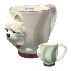 DNC - West Highland Terrier Collectible Westie Dog Puppy Porcelain Mug Cup - This gorgeous West Highland Terrier Collectible Westie Dog Puppy Porcelain Mug Cup has the finest details and highest quality you will find anywhere! West Highland Terrier Collectible Westie Dog Puppy Porcelain Mug Cup is truly remarkable.