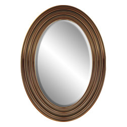 "Enchante Accessories Inc - Framed Oval Wall Mirror 22""x 30"", Taupe - Polystyrene Framed Oval Wall Mirror  Decorative design with a weathered finish for a vintage look Perfect Foyer Mirror Versatile design that can be hung in any hallway, living room, bedroom, or entryway Measures 22 in. x 30 in. Measures: L:3 in. x W:22 in. x H:30 in. Mirrors not only reflect your image, but they reflect your style.  The types of mirrors you choose to hang in your home not only provide function, but act as a great accent piece that shows your sense of style apart and reflects your taste.  Made from durable wood and accented with distressed finishes, beveled edges, and weathered details that give them a rustic, vintage look, these mirrors add beauty to any wall in any room of the house.  Perfect for use in an entry way, a hallway, a dining room, a living room, or a bedroom, these rustic mirrors have that vintage inspired French country look that adds instant charm and casual comfort to any home. For a unique look and an interesting display, hang mirrors of different sizes, shapes, and colors on the same wall.  Mirrors help to add texture and dimension and create the illusion of a larger space.  By hanging multiple mirrors in a small space, you can create interest and increase the perceived size and feel of the space around you.  Available in both rectangular shapes and rectangular shaped frames with oval mirrors in the center, these rustic wood mirrors come in a variety of color finishes that have a neutral appeal and can be easily coordinated with any type of rustic furniture or shabby chic room decor. With the look and feel of a treasured family heirloom, these mirrors are aged and weathered to give them a vintage look and evoke a sense of old fashioned spirit.  Reminiscent of something you may have once seen in a charming country cottage, these wooden mirrors let you check out your own reflection as well as reflect the beautiful room around you.  The antique look makes them the perfect addition to any casual space while the clean mirrored glass provides the function that aged and worn mirrors often cannot."