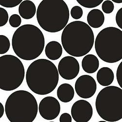 """SheetWorld - SheetWorld Fitted Oval Crib Sheet (Stokke Sleepi) - Black on White Dots - This luxurious 100% cotton """"woven"""" oval crib (stokke sleepi) sheet features a beautiful black on white, multi size dot print. Our sheets are made of the highest quality fabric that's measured at a 280 tc. That means these sheets are soft and durable. Sheets are made with deep pockets and are elasticized around the entire edge which prevents it from slipping off the mattress, thereby keeping your baby safe. These sheets are so durable that they will last all through your baby's growing years. We're called SheetWorld because we produce the highest grade sheets on the market today. Size: 26 x 47."""