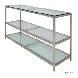 Bianco Bar Table, Glass/Large