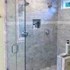 Craftsman Bathroom by Smithcraft Tile & Stone