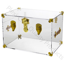 Eclectic Decorative Trunks by Plexi-Craft
