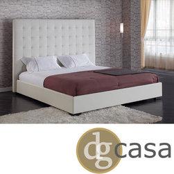 DG Casa Delano White King Platform Bed -