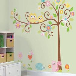 RR - Scroll Tree MegaPack Peel & Stick Wall Decal - Scroll Tree MegaPack Peel & Stick Wall Decal