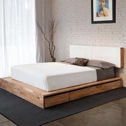 MASHstudios - MASHstudios LAXseries Storage Platform Bed -