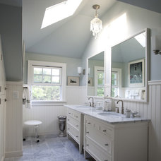 Traditional Bathroom by Elizabeth Hagins Interior Design