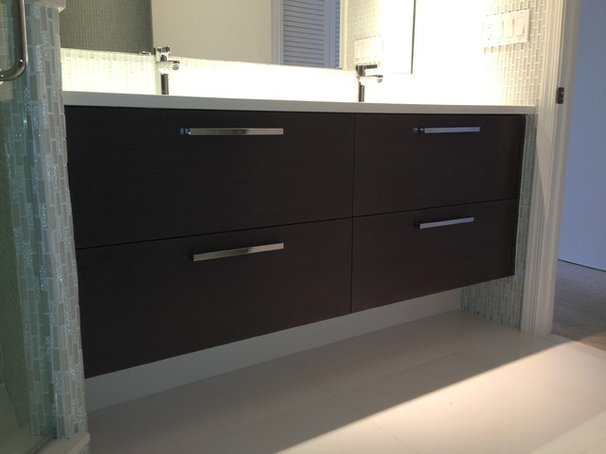 Modern Bathroom Vanities And Sink Consoles by ECCO Woodcrafts & Cabinetry, LLC