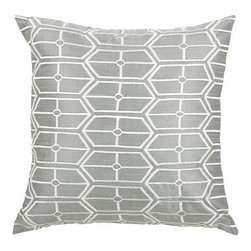 Rizzy Home - Gray and Silver Decorative Accent Pillows (Set of 2) - T03572 - Set of 2 Pillows.