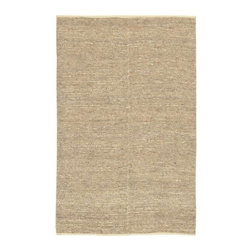 Surya - Continental COT1930 Hand Woven Jute Rug in Natural (5' x 8') - Choose Size: 5 ft. x 8 ft.. Hand Woven. Made in India. Made from 100% Natural Jute