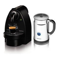 Nespresso Essenza C91/Aero+ Bundle