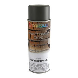 SEYMOUR OF SYCAMORE - 16-1700 16ozsp Weathered Wood Paint - Features:
