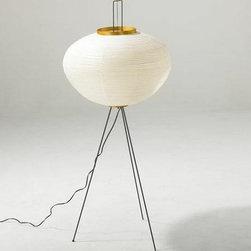 Noguchi Floor Lamp 10A By Akari Lamps - The Akari Noguchi Floor Lamp 10A is part of the Noguchi Floor lamp collection.