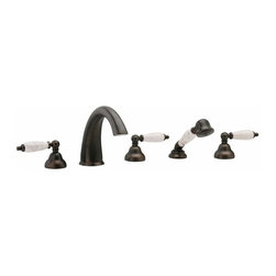 Phylrich K2158BT1 Carrara Roman Tub Faucet Trim Only (Rough Valve Required) -