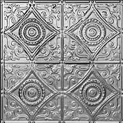 """Decorative Ceiling Tiles - Harry's Scrollwork - Aluminum Ceiling Tile - 24""""x24"""" - #1219 - Find copper, tin, aluminum and more styles of real metal ceiling tiles at affordable prices . We carry a huge selection and are always adding new style to our inventory."""
