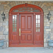 Traditional Front Doors by HeartWood Fine Windows and Doors