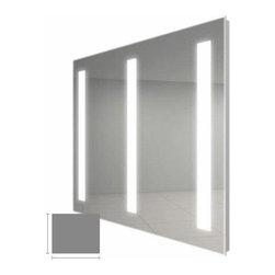 "Electric Mirror Triple Fusion 48"" x 40"" Lighted Mirror FUSTRI4840 -"