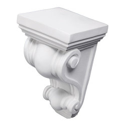uDecor - CB-1575 Corbel - These corbels are for decorative use only. These should not be used for any structural support.