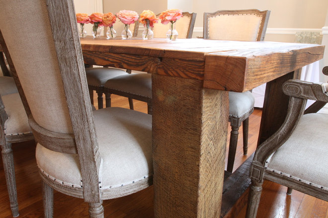 Traditional Dining Tables by Reclaim Renew