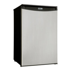 """Danby - 4.40 Cubic Foot Compact All Refrigerator - Dimensions: 20 11/16"""" W x 21 1/16"""" D x 33 1/16"""" H"""