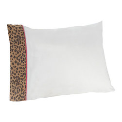 Sweet Jojo Designs - Pink Cheetah Sheet Set Twin (3-Piece.) - The Pink Cheetah Sheet Set is the perfect accessory for your Sweet Jojo Designs Bedding Set. This set is made of 100% cotton and is machine washable for easy care.