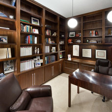 Modern Home Office by Dawn Kaiser Design, LLC.