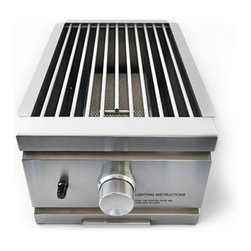 RCS Grills - RCS Grills Stainless Natural Gas Single Infra Red Side Burner - Slide-In - Renaissance Cooking Systems' (RCS) factory has been in the gas grill business for over 15 years.  They are an OEM supplier to many famous-brand names you already know. With their huge buying power of components and superior manufacturing capacity they are able to pass the savings and their manufacturing experience on to you - the consumer.  Every RON series grill is backed by a full lifetime warranty on the stainless cooking grids stainless housing and stainless burners. That's peace of mind. Usually the weak link in any gas grill is the ignition system. RCS ignition systems are the finest in the industry - period. Their stainless steel is premium grade 304 the finest you can buy. This high grade of stainless means you'll enjoy your Renaissance Cooking Systems grill doors drawers and accessories for many many years to come.
