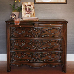 Lowell European Carved Chest