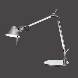 Artemide - Tolomeo Micro LED Table Lamp | Artemide - Design by Michele De Lucchi and Giancarlo Fassina, 2006.