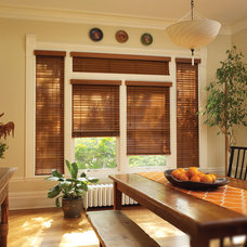 Contemporary Window Blinds by Home Source Custom Draperies & Blinds