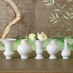 Global Views Decor Williamsburg Mini Chinoise Vase Set - Global Views Decor Williamsburg Mini Chinoise Vase Set.