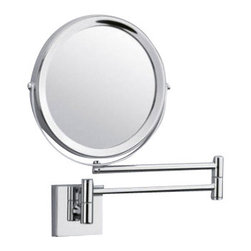 """Decor Walther - Decor Walther SP 28/2/V Cosmetic Mirror - The SP 28/2/V Cosmetic Mirror has been designed and made by Decor Walther.        With the SP 28/2/V provides Decor Walther sumptuous bathrooms front      accessories, which stand out with its high quality finish, the best      materials and harmonious design. SP 28/2/V Cosmetic Mirror cosmetic available in  5-flod/1-flod  magnification it is suitable  for many applications, swivelling base height 6.5 cm and depth 6.5 cm.  Product Details:  The SP 28/2/V Cosmetic Mirror has been designed and made by Decor Walther.        With the SP 28/2/V provides Decor Walther sumptuous bathrooms front      accessories, which stand out with its high quality finish, the best      materials and harmonious design. SP 28/2/V Cosmetic Mirror cosmetic available in  5-flod/1-flod  magnification it is suitable  for many applications, swivelling base height 6.5 cm and depth 6.5 cm.  Details:                                      Manufacturer:                                      Decor Walther                                                                  Designer:                                     In House Design                                                                  Made in:                                     Germany                                                                  Dimensions:                                      Diameter: 6.69"""" (17 cm) X Depth: 18.90"""" (48 cm)                                                                   Material:                                      Metal"""